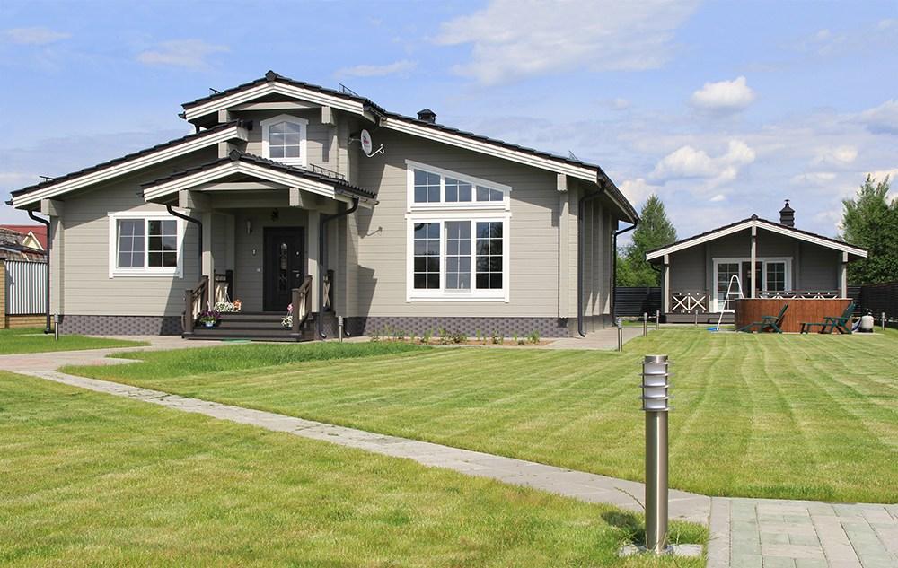 Skandynawski drewniany dom powierzchnia netto 138m for Tetti di case moderne
