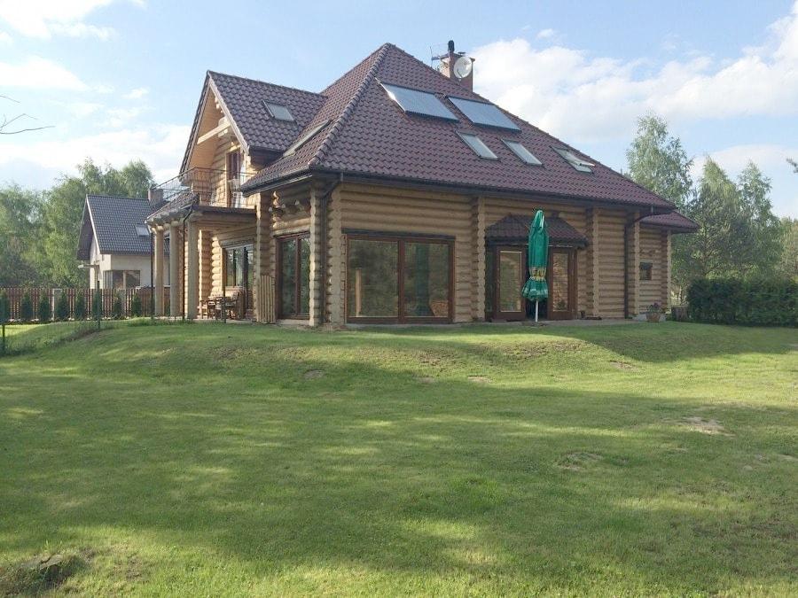 Domy z drewna dom drewniany z bali dom z litych bali for Offerte case in legno abitabili