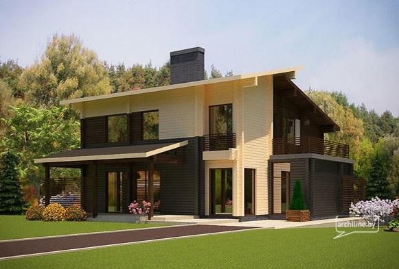 domy z drewna dom drewniany z bali dom z litych bali. Black Bedroom Furniture Sets. Home Design Ideas